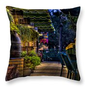 Plants And Boardwalk V Throw Pillow