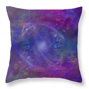 Plasma Drive Ignition Throw Pillow