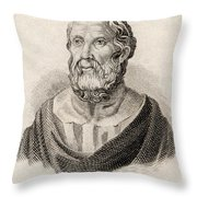 Plato From Crabbes Historical Dictionary Throw Pillow