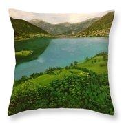 Plav Montenegro  Throw Pillow