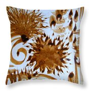 Play Brush And Ink Throw Pillow