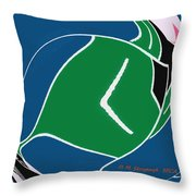 Play In The Ocean Throw Pillow