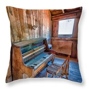 Play It Again Sam Throw Pillow by Cat Connor