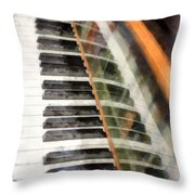 Play It Again Sam Throw Pillow
