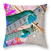 Play It Again Sam Throw Pillow