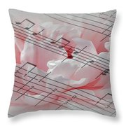 Play It Softly Throw Pillow