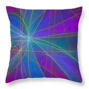 Play Of Colours Throw Pillow