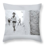 The Joy Of Life Throw Pillow