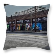 Play Some Music Throw Pillow