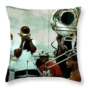 Play That Trumpet Throw Pillow