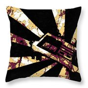 Play The World Throw Pillow