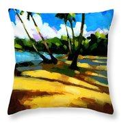 Playa Bonita 2 Throw Pillow