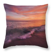 Playa De Fuego  Throw Pillow