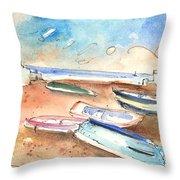 Playa Honda In Lanzarote 03 Throw Pillow