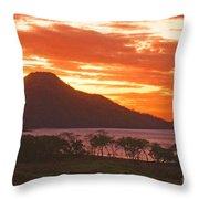Playa Matapalo Costa Rica Throw Pillow