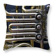 Player In The Band Throw Pillow