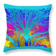 Playful Colors 4 Throw Pillow