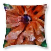 Playful Poppies 1 Throw Pillow