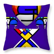 Playhaus Throw Pillow
