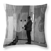 Playing For Change Throw Pillow
