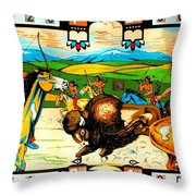 Playing For Keeps Throw Pillow
