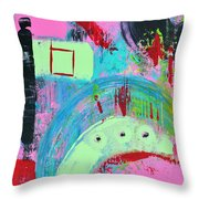 Playing The Game Throw Pillow