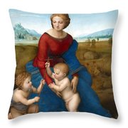 Playing Time Throw Pillow