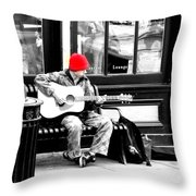 Playing To Get By Throw Pillow