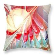 Playing With Colors Throw Pillow by Anastasiya Malakhova