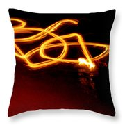 Playing With Fire 10 Throw Pillow