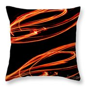 Playing With Fire 12 Throw Pillow