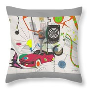 Playtime Throw Pillow by John Wiegand