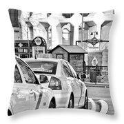 Plaza De Castilla Throw Pillow