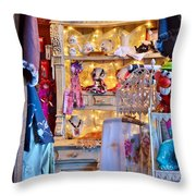 Shop At The Boardwalk Plaza Hotel - Rehoboth Beach Delaware Throw Pillow