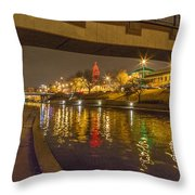 Plaza I Throw Pillow