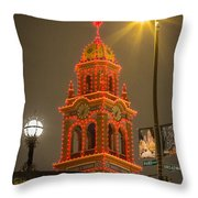 Plaza IIi Throw Pillow
