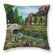 Pleasant Journey Throw Pillow