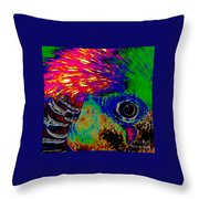 Pleasant Pheasant  Throw Pillow