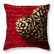 Please Be My Love Throw Pillow