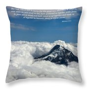 Please Be Seated Throw Pillow
