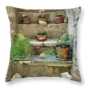 Non Entrare Per Favore Throw Pillow