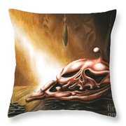 Please Leave It On The Table Throw Pillow
