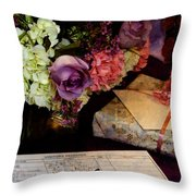 Please Sign In Throw Pillow