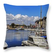 Pleasure Of Boating Throw Pillow