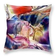 Pleiades Above Throw Pillow