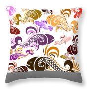 Plenty Of Fish In The Sea 5 Throw Pillow