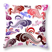 Plenty Of Fish In The Sea 6 Throw Pillow