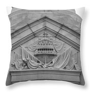 Plot A Course Throw Pillow by Teresa Mucha