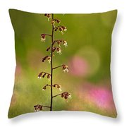 Plum Pudding Plant  Throw Pillow