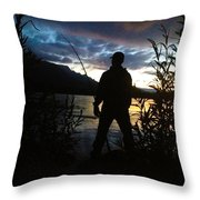 Plunked Throw Pillow